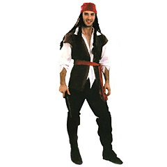 cosplay halloween puku aikuinen merirosvo puku merirosvot Karibian merirosvo kapteeni Jack