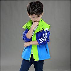 billige Jakker og frakker til drenge-Børn Drenge Farveblok Jakke og frakke