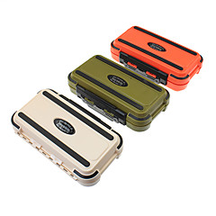 "cheap Fishing Tackle Boxes-Fishing Tackle Boxes Tackle Box Waterproof Plastic 16.5*3 1/3"" (8.5 cm)*5"