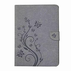 preget mønster kortholder med stativ magnetisk pu lommebok lærveske kort veske med mønster for Samsung Galaxy Tab en t550 t555c 9,7