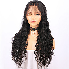 cheap Wigs & Hair Pieces-Human Hair Lace Front Wig Brazilian Hair Loose Wave Wig Layered Haircut 130% Density with Baby Hair Natural Hairline For Black Women 100% Virgin Unprocessed Women's Short Medium Length Long Human