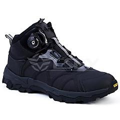 ランニング・シューズ 登山靴 男性用 アンチスリップ 防雨 耐久性 通気性 レジャースポーツ ハイカット その他アニマルスキン ラバー ハイキング ランニング