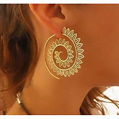 cheap -Women's Hoop Earrings - Statement Circle For Daily