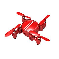 billige Fjernstyrte quadcoptere og multirotorer-RC Drone SH1 4 Kanaler 6 Akse 2.4G Med 720 P HD-kamera Fjernstyrt quadkopter WIFI FPV En Tast For Retur Hodeløs Modus Flyvning Med 360