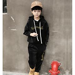 tanie Odzież dla chłopców-Dzieci Dla chłopców Solidne kolory Bawełna Komplet odzieży