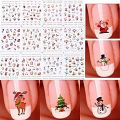 Nail Art Sticker  Water Transfer Decals Makeup Cosmetic Nail Art Design