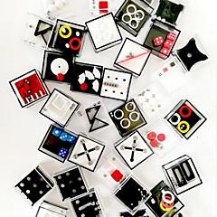 Sokkelo 3D Maze Puzzle -laatikko Lelut Uutuus Muoti 10 Pieces Aikuisten Syntymäpäivä Lasten päivä Lahja