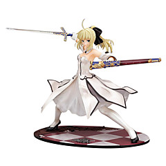 halpa -Anime Toimintahahmot Innoittamana Fate/stay night Saber 23 CM Malli lelut Doll Toy