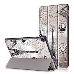 billige Nettbrettetuier&Skjermbeskyttere-Etui Til Asus Heldekkende etui Tablet Cases Hard PU Leather til