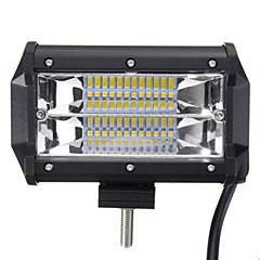5 Inch 72W Two Rows of LED Light Bar Lights Work Driving Modified Off-Road Vehicle Lights Roof Lights