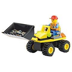 ブロックおもちゃ ホイールショベル おもちゃ 掘削機械 1 小品