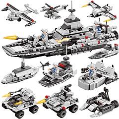 ブロックおもちゃ ボート おもちゃ 軍艦 飛行機 軍隊 DIY 6 1 クラシック 新デザイン 子供用 男の子用 男の子 419 小品