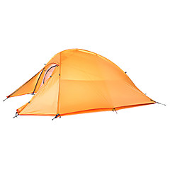cheap Tents, Canopies & Shelters-Naturehike 2 persons Shelter & Tarp Tent Double Camping Tent One Room Backpacking Tents Well-ventilated Waterproof Quick Dry Ultraviolet
