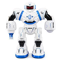 billiga Leksaker och spel-RC Robot JJRC R3 Inhemska och personrobotar / Robotar / Intelligent Robot 2.4G ABS Sång / Gång / Talande