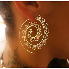 Women's Hoop Earrings Jewelry Geometric Bohemian Alloy Jewelry For Daily Going out