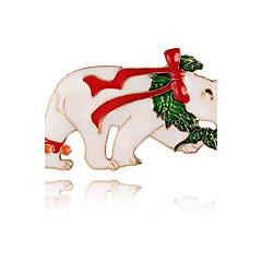 Γυναικεία Καρφίτσες Άνιμαλ χαριτωμένο στυλ Κράμα Bowknot Shape Αρκούδα Κοσμήματα Για Καθημερινά Causal