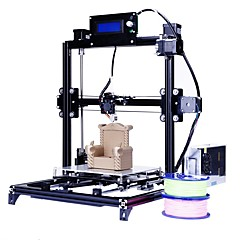 cheap Equipment & Tools-Flsun Prusa I3 3d Printer 200*200*220mm Auto Leveling with Heated Bed Two Rolls Filament for Free