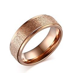 cheap Rings-Women's Lovely Rose Gold Band Ring - Circle Elegant Rose Gold Ring For Wedding / Party / Daily