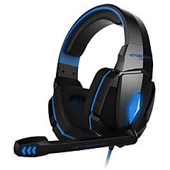 g4000 headset játék headset mélysugárzó fényes számítógépes fejhallgató