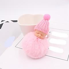 halpa -New Baby Avaimenperä suosii Plyysi asbesti Metalliseos Avaimenperä-1