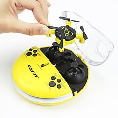 billige Fjernstyrte quadcoptere og multirotorer-RC Drone FQ777 FQ04 4 Kanal 6 Akse 2.4G Med HD-kamera 0.3MP 0.3 Fjernstyrt quadkopter LED Lys / Hodeløs Modus Fjernstyrt Quadkopter /