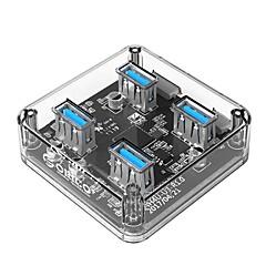 billige USB Hubs & Kontakter-ORICO 4 USB Hub USB 3.0 USB 3.0 Højhastighed Data Hub
