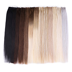 cheap Tape in Hair Extensions-Neitsi Tape In Human Hair Extensions Classic Human Hair Extensions Human Hair Women's