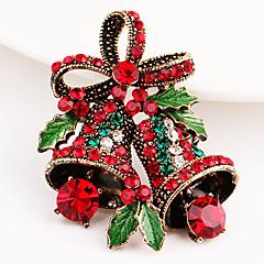 Ανδρικά Καρφίτσες Στρας Συνθετικό ρουμπίνι Στρας Κοσμήματα Για Χριστούγεννα