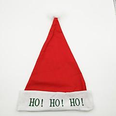 Lomatuotteet Joulukoristeet Joulujuhlatarvikkeet Lelut Christmas Taper Shape Kirjain Loma Loma Joulupukki-asu Aikuisten Pieces