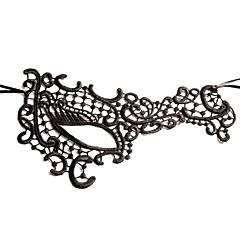 billige Originale moroleker-Haloween-masker Hage Tema Nyhet Ferie Klassisk Tema Eventyr Tema Romantik Fantasi Mote Familie Flettet Stoff Kunstnerisk / Retro كلاسيكي