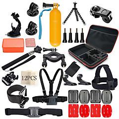 baratos Câmeras Esportivas & Acessórios GoPro-Acessórios geral Húmido / Cabo Retrátil / Resistente ao Choque Para Câmara de Acção Gopro 6 / All Action Camera / Todos Acampar e / SJCAM