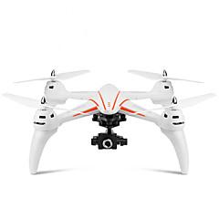 billige Fjernstyrte quadcoptere og multirotorer-RC Drone WL Toys Q696-D 4 Kanal 2.4G Med HD-kamera 5.0MP 1080P Fjernstyrt quadkopter LED Lys / Hodeløs Modus / Flyvning Med 360 Graders