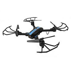 billige Fjernstyrte quadcoptere og multirotorer-RC Drone FQ777 FQ777-24 4 Kanal 6 Akse 2.4G WIFI Med HD-kamera 720P Fjernstyrt quadkopter WIFI FPV Mini LED Lys En Tast For Retur Hodeløs
