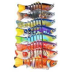 cheap Fishing Lures & Flies-1 pcs Fishing Lures Minnow / Vibration / VIB / Pike Plastic / ABS Sea Fishing / Fly Fishing / Bait Casting / Ice Fishing / Spinning / Jigging Fishing / Freshwater Fishing / Carp Fishing