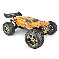 billige Fjernstyrte biler-Radiostyrt Bil JJRC V2 2.4G Høyhastighet 4WD Driftbil Vogn 1:10 70 KM / H Fjernkontroll Oppladbar Elektrisk