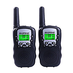 billige Walkie-talkies-BAOFENG T3 Walkie-talkie Håndholdt 1,5-3 km 1,5-3 km Walkie Talkie Toveis radio