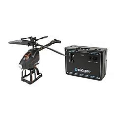 Radiostyrt Helikopter 2CH Nei Klar-Til-Bruk Mini Foldbar Kurv Fjernkontroll