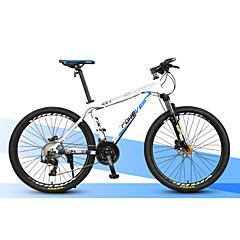 マウンテンバイク サイクリング 30スピード 27インチ MICROSHIFT 24 ディスクブレーキ サスペンションフォーク 普通 アルミニウム アルミニウム