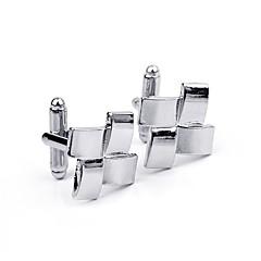 baratos -Argola Prendedor de Gravada Clipe de gravata Liga Roupas de Festa Botões de Punho Diário Homens