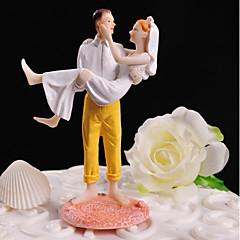 Kakepynt Bryllup Venner Pleksiglass Bryllup Fest med Gaveeske