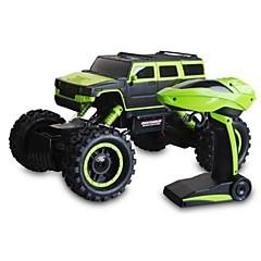 billige Fjernstyrte biler-Radiostyrt Bil 1503 2.4G Fjellklatring Bil Høyhastighet 4WD Driftbil Vogn Jeep 1:10 * KM / H Fjernkontroll Oppladbar Elektrisk
