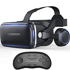 vritual reality shinecon 6.0ブルートゥースヘッドセットvrメガネのヘルメット4.7-6.0用スマートフォンブルートゥースコントローラ搭載のスマートフォン