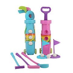 tanie Zabawa na dworze i sport-Golf dla dzieci Sport Golf Miękki plastik Dla dzieci Dla chłopców Dla dziewczynek Zabawki Prezent 1 pcs