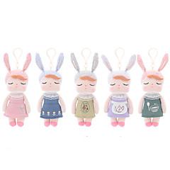 장난감을 채웠다 장난감 Rabbit 카툰 패션 웨딩 어린이를위한 소프트 Rabbit 카툰 디자인 웨딩 패션 여자아이 1 조각