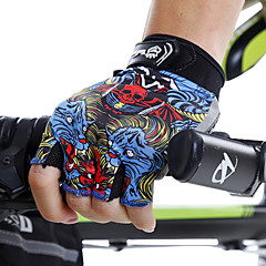 baratos -Unisexo Treinador Secagem Rápida Desportos e Ar livre Fashion Côr Misturada Lycra Exercicio Exterior Ciclismo / Moto