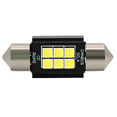 billige Interiørlamper til bil-SO.K 4stk Elpærer 3 W SMD 3030 6 interiør Lights For Universell Alle år