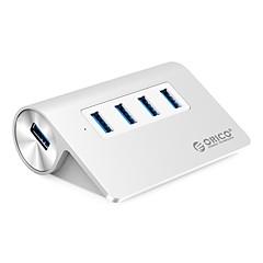 billige USB Hubs & Kontakter-ORICO 4 USB Hub USB 3.0 USB 3.0 Højhastighed Indgangsbeskyttelse Overbelastningsbeskyttelse Data Hub