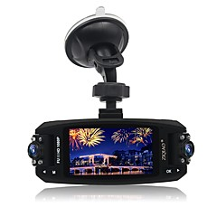 cheap Car DVR-ZIQIAO JL-F80 Full HD 1920 x 1080 170 Degree Car DVR Novatek 96220+ OmniVision 9712 sensor 2.7 inch TFT Dash Camforuniversal G-Sensor