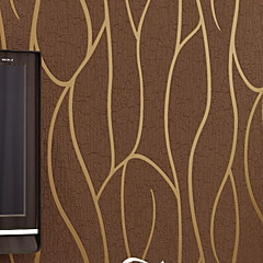 billige Tapet-Stripet Hjem Dekor Moderne Tapetsering, U-vevet stoff Materiale selvklebende nødvendig bakgrunns, Tapet