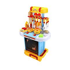 """YIJIATOYS Hrajeme si na... Nakupování hospodářství Toy kuchyňských sestav Kuchyňskými spotřebiči děti """" Hračky Nábytek nábytek Jídlo a"""